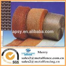 liquid and gas cooper knitted screening filter wire mesh