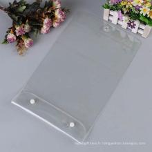 Sac promotionnel cosmétique en plastique de PVC élevé de Quailty