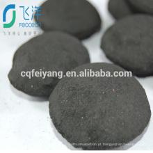 Briquete de carvão de serragem de madeira para churrasco
