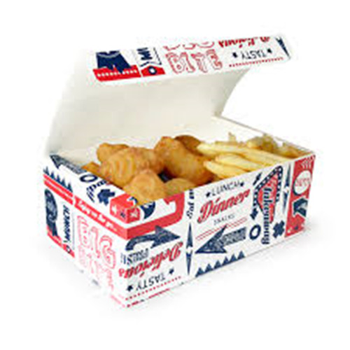 Printed Chicken Box