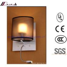 Translucence Hotel Bedside Reading Lámpara de pared LED