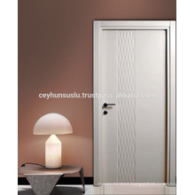 Lacquered Interior Door New Design Wavy CNC routing surface