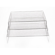 3-Layer Non-stick Biscuit Cake Pizza Baking Cooling Rack