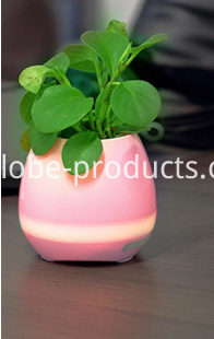Mini Bluetooth Speaker With Flower Pot China Electrical And Electronics,Novelty Light,Novelty Speakers Supplier