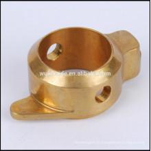 Kundenspezifische hochwertige Cnc bearbeitete Kupferteile OEM Teile