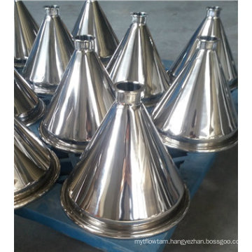 Small Stainless Steel Hopper for Packing Machine and Supporting Device