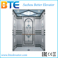 Kc Good Decoration Passenger Lift Without Machine Room