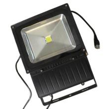 Inundação alta exterior do diodo emissor de luz da luz da baía de IP65 Epistar que ilumina 100W