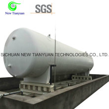 40m3 Effective Volume 0.2MPa Working Pressure Cryogenic Tank Container