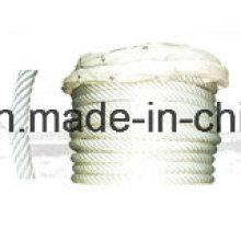 Nylon Cantar Filamento 6-Ply Composite Rope