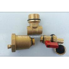 Válvula de bola forjada del ventilador de aire forjada CE (IC-1052)