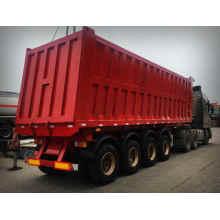 4 axles 45m3  dump truck trailer