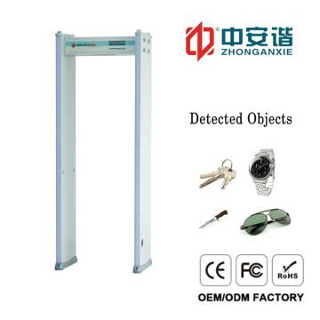 High-Decibel Alarm Door Frame Metal Detector with 24 Zones for Ships