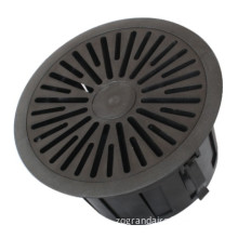 Plastic Floor Swirl Diffuser with Removable Core