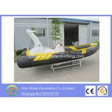 Rigid Boat 5.8m Inflatable Fibreglass Fishing Yacht