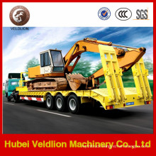 BPW 3 Axle Truck Trailer for Loading Excavator
