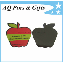 High Quality Soft PVC Fridge Magnet with Apple Shape (FM-03)