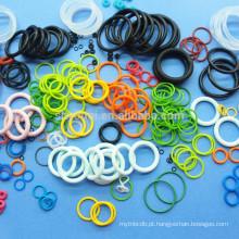 Anel-O de borracha do produto comestível do silicone do anel-O da borracha do selo da elasticidade