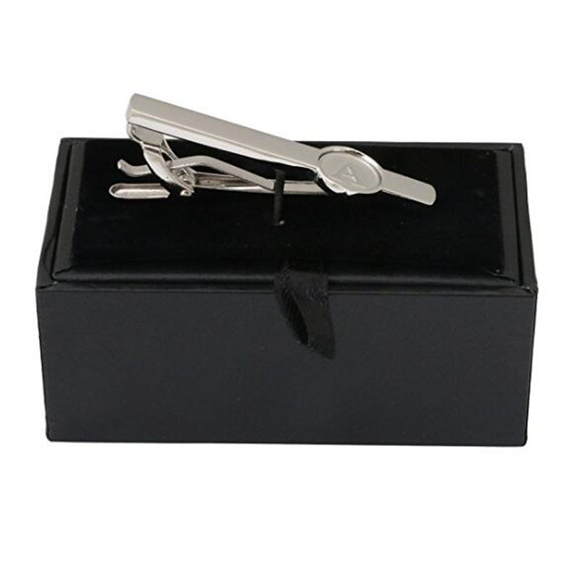 Sliver Plated Tie Clips