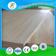 Laminated Wood Type Fancy Plywood With Pine Vneer Face and Back