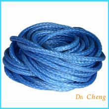 Bule Uhmwpe amarração de cordas de reboque