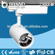 IP44 fabricante buena calidad 15W COB Track LED lámpara, CE RoHS