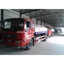 Dongfeng 6 wheels water tank truck 15m3