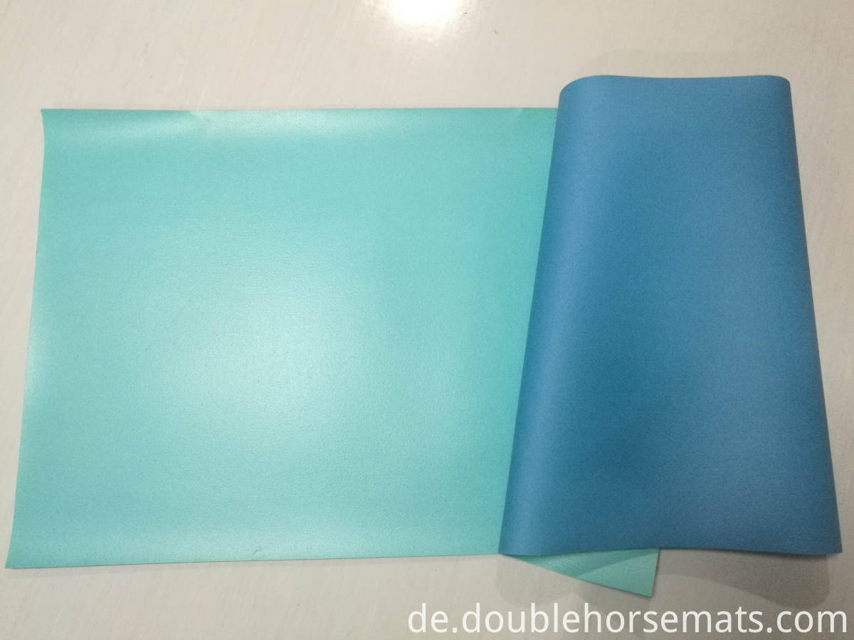PVC plain yoga mat