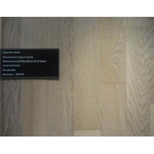 125X18mm UV Handscraped Oak Engineered Wood Flooring