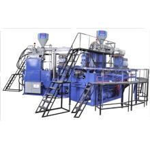 Chanclos de PVC de dos colores que hacen la máquina