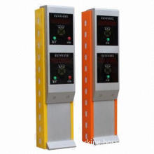 Two-card dispenser poll box, for differences car
