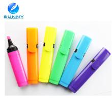 Fabricante Mini Multi cor Highlighter caneta para crianças