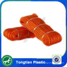 hollow heart pe polyethylene rope braid rope