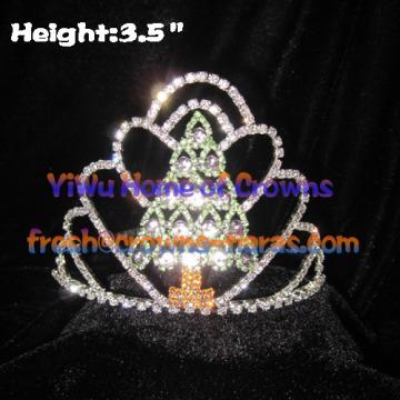 Árbol en forma de corona del desfile---Mini árbol de Navidad
