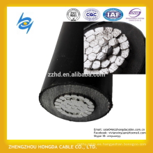 Cable de media tensión 150mm2 xlpe con cable de aluminio Cable de 33kV XLPE con cable aéreo aislado