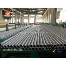 Tubo inconsútil de acero Duplex ASTM A789 UNS32750(2507/1.4410)