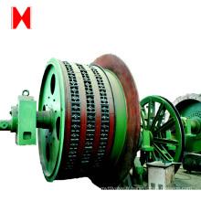 Mini grue électrique de tambour de mine de corde simple / câble métallique