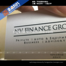 Eco-friendly offset printing luxury new products business card