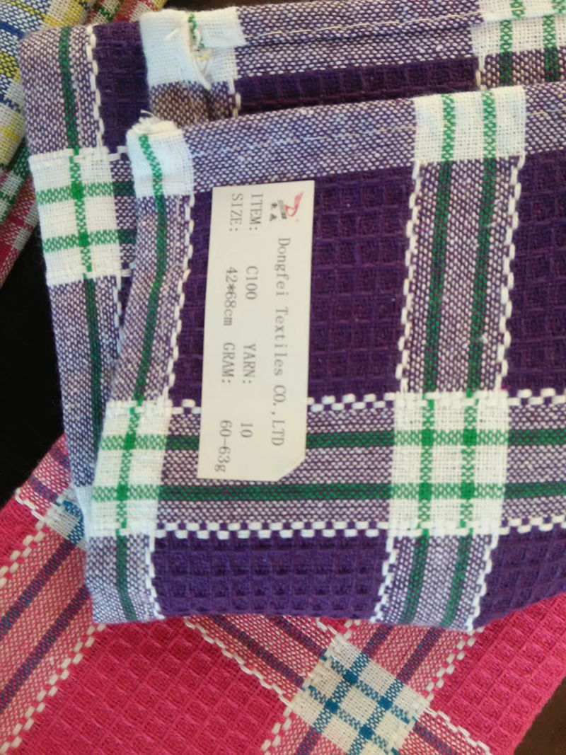 Tea Towel With Checks