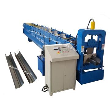 K+Type+Steel+Rain+Gutter+Roll+Forming+Machine