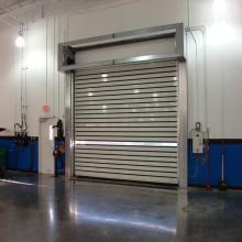 Aluminum spiral fast shutter door