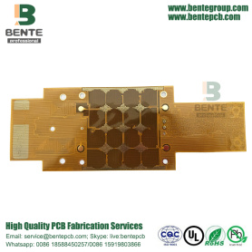 2Layers Flexible PCB ENIG Material DuPont PI