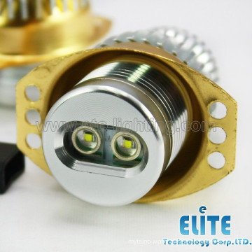 multicolor led car angel eyes for E90-10W on hot sell