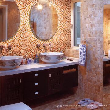 Cuarto de baño Piscina Ceramic Glass Mosaic Tile