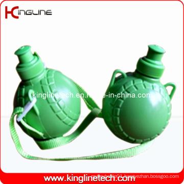 Plastic Sport Water Bottle, Plastic Sport Bottle, 350ml Plastic Drink Bottle (KL-6312)