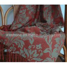 Super Soft Jacquard Merino Wool Throw