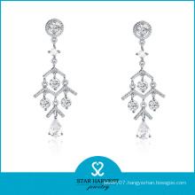 2014 New Design Custom Chandelier Silver Earrings (SH-E0075)