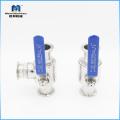 Подгонянное фабрикой высокое давление шарикового клапана нержавеющей стали 304 / 316L