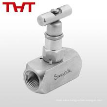 10000 psi ss316 swagelok needle valve