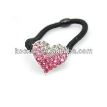 Heart shape rhinestone crystal hairband/headband